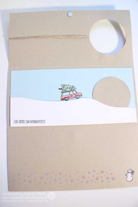 Weihnachtskarte für Anfänger Stampin' Up!