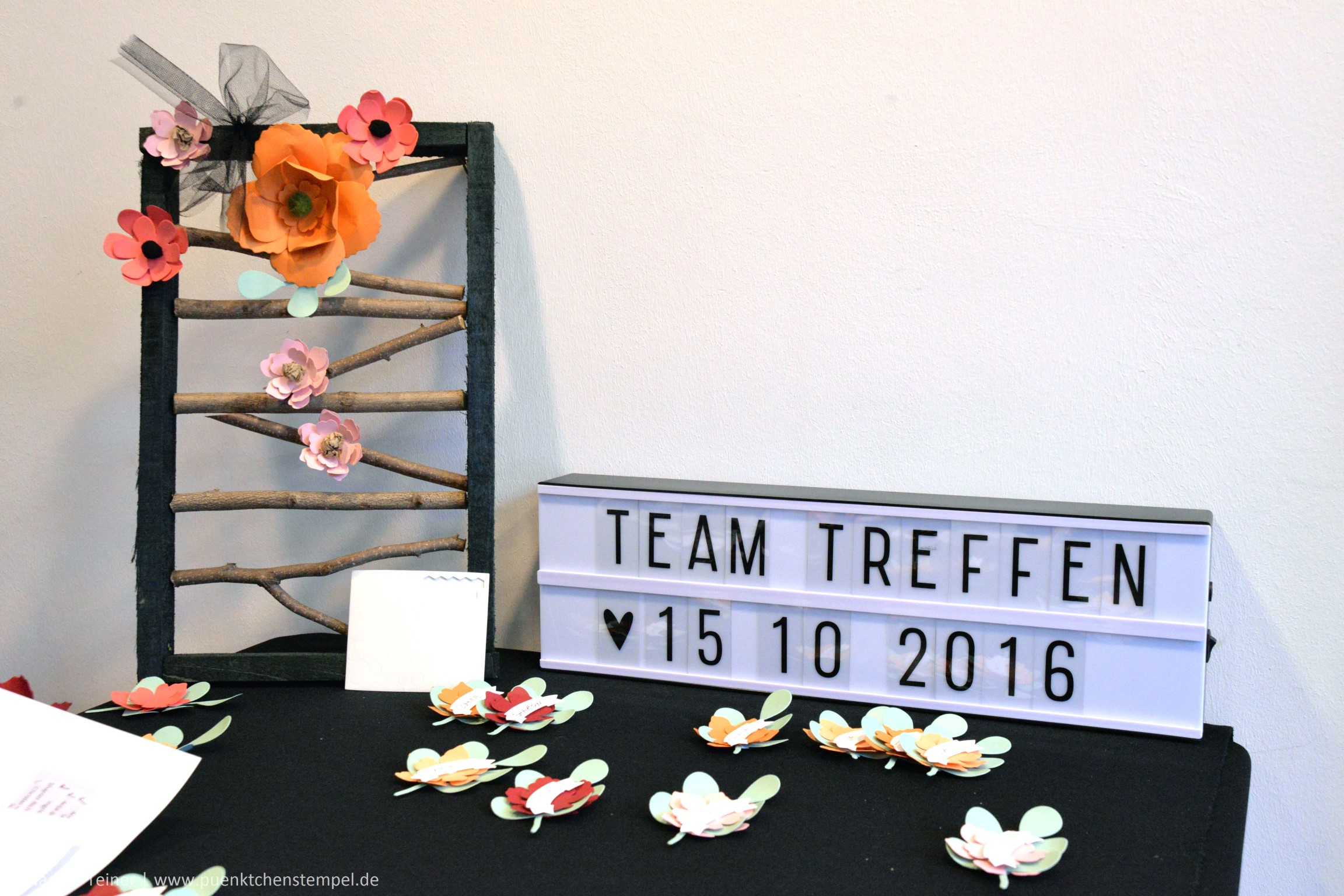 Teamtreffen Oktober 2016 www.puenktchenstempel.de