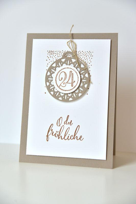 stampin up weihnachtskarte allerbeste wünsche puenktchenstempel.de