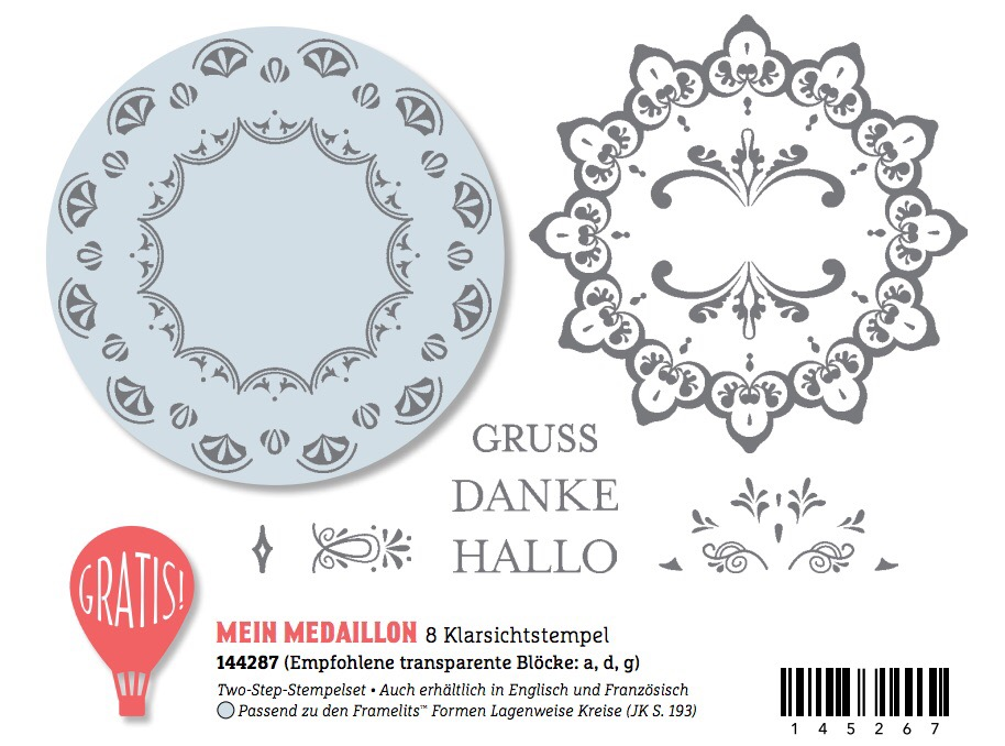 Mein Medaillon Stampin up sale-a-bration