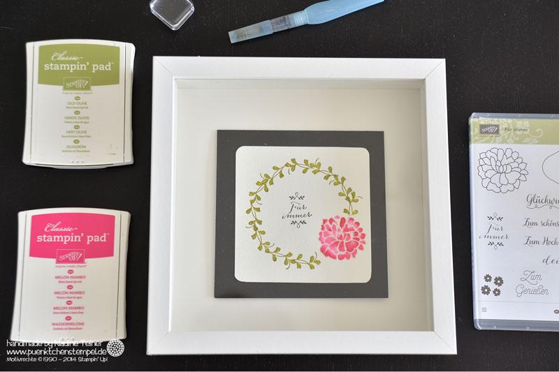 Inspiration & ARt Bloghop Coloriert Hochzeitskarte colorieren