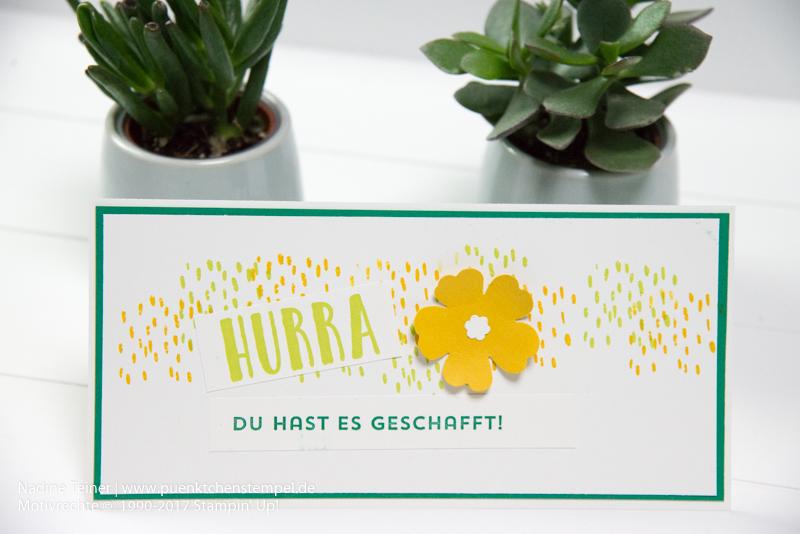 Beste Grüße Stampin' Up! puenktchenstempel.de