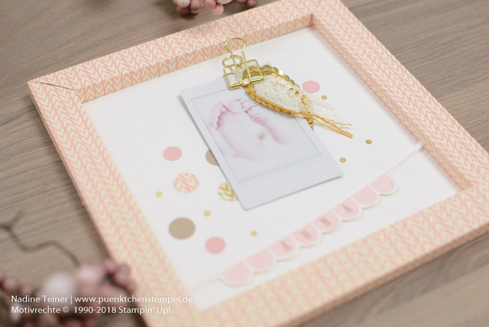 Geschenke zur Geburt Deko